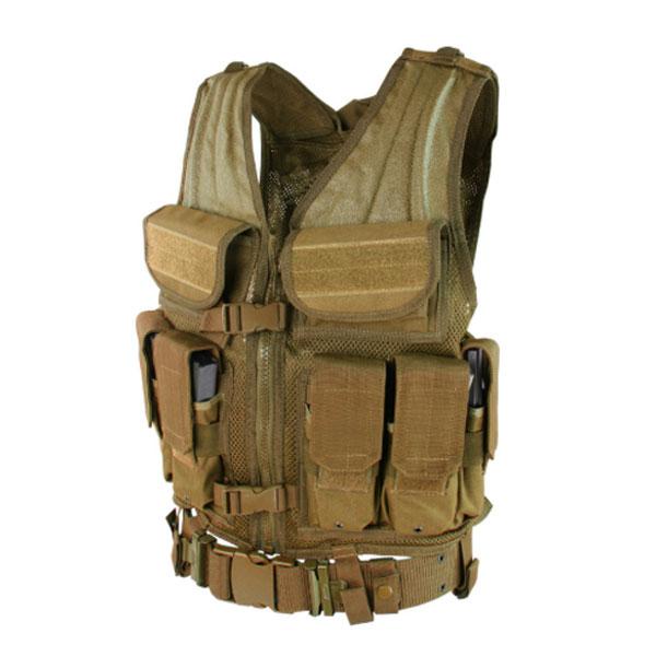 Chaleco Tactico Condor Elite Etv 498 Con Portacargadores Coyote Protek 1 Equipo De Seguridad Y Proteccion En Sinaloa